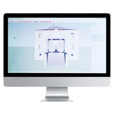 mac con programma autocad